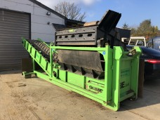 Traserscreen DB 40LS op containerchassis